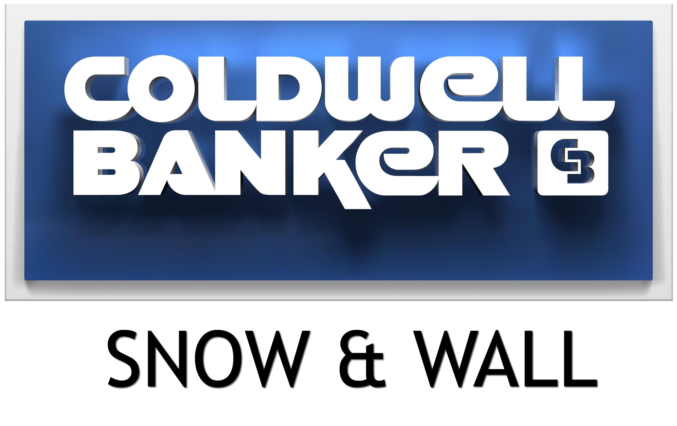 Coldwell Banker Snow and Wall Logo