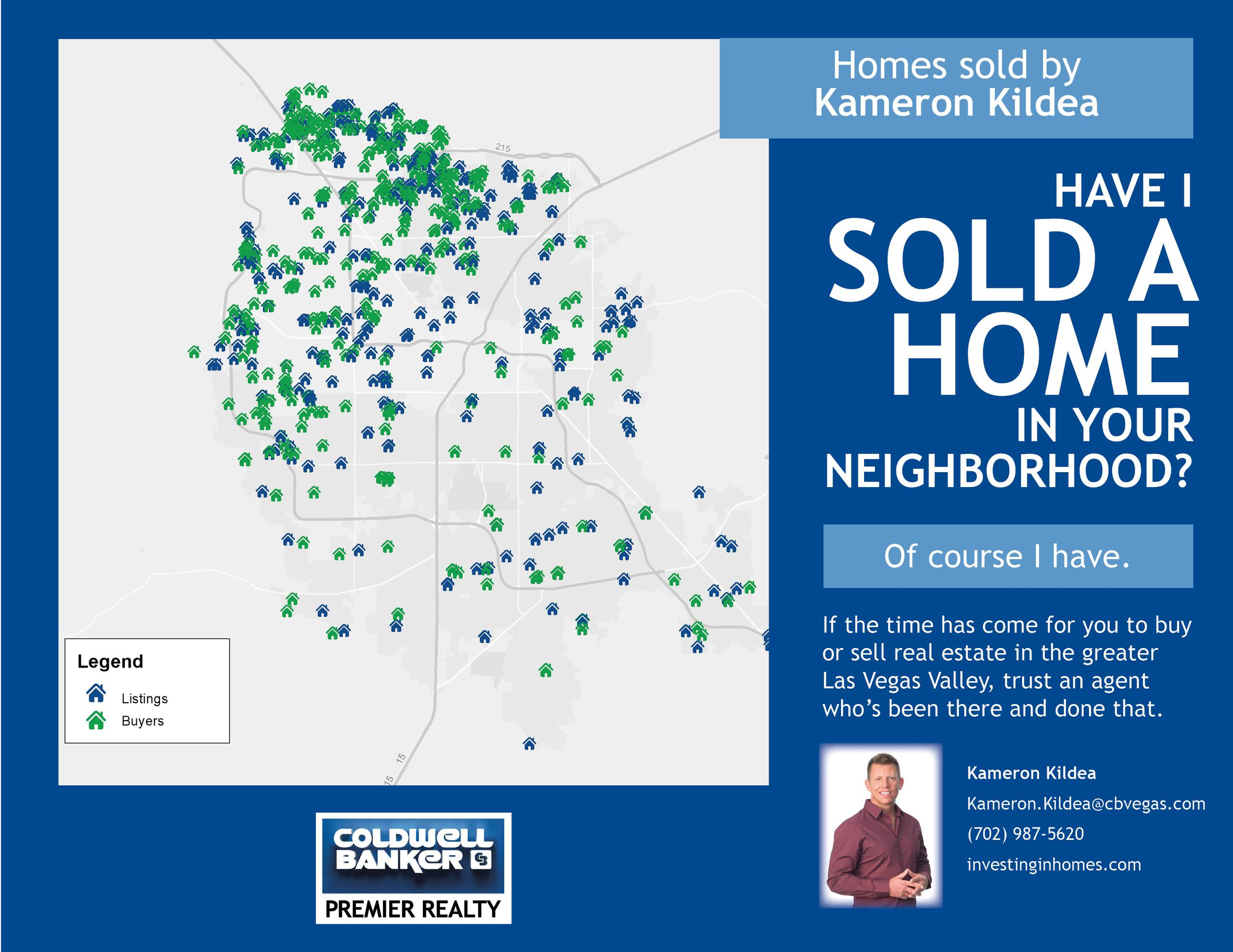 Have I Sold A Home In Your Neighborhood?
