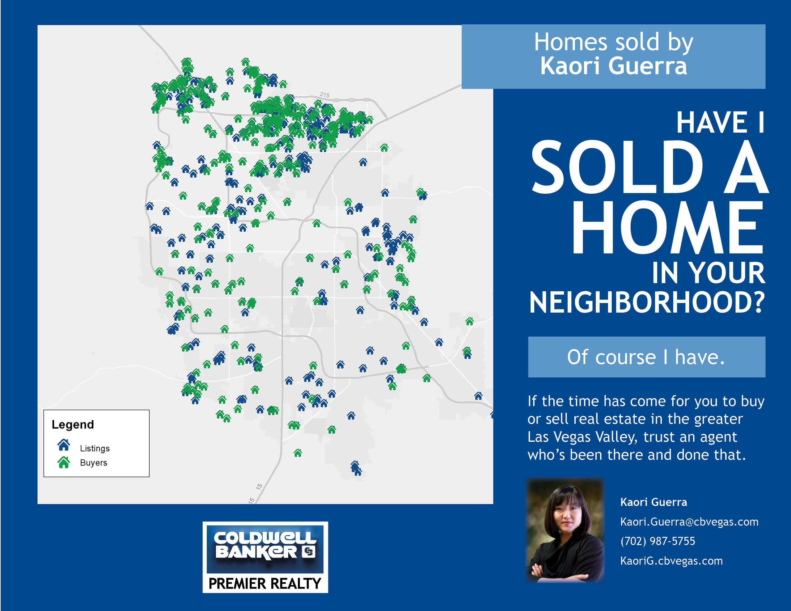 Have I Sold A Home In Your Neighborhood...