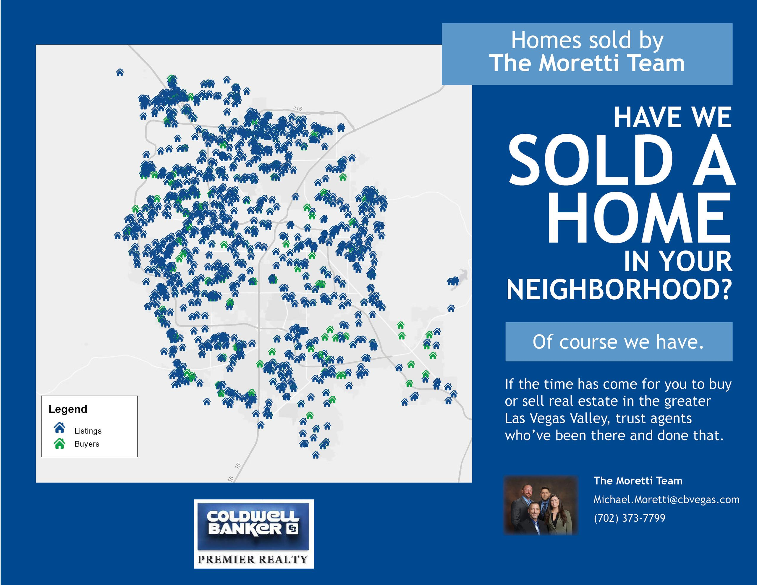 Have We Sold A Home In Your Neighborhood...
