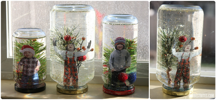 DIY Snowglobes In This Easy To Follow Tutorial Wondering How Long These Last One Of Their Readers Commented That Hers Over 12 Years And Is Still